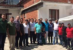 Atiker Konyaspordan Eren Bülbülün ailesine taziye ziyareti