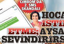CİMBOMDA 2. SMS SKANDALI