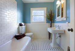 Birbirinden güzel banyo zeminleri