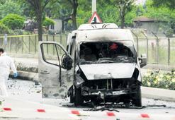 Sancaktepe'de askeri araca saldırı
