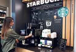 'Starbucks'tan self servis kahve