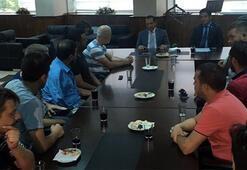 Bursaspor tribün liderleriyle toplantı yapıldı