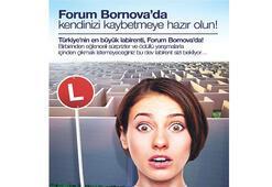 Forum Bornova'ya en büyük labirent