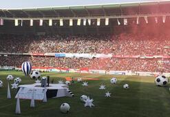 Türk mimarın yaptığı Kerbela Stadı açıldı