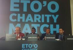 Etoo: Cumhurbaşkanı Erdoğanla futbol oynamak isterim