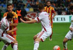 Kayserispor - Medicana Sivasspor: 1-1