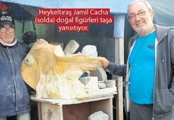 Jamil Cacha'nın figüratif taşları