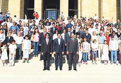 BAL mezunları Ata'nın huzurunda