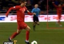 Almeida golü önceden hissetmiş
