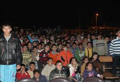 Mülteci Kampında Festival Keyfi