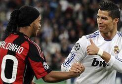 Ronaldinhodan Ronaldoya...