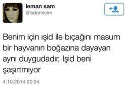 Leman Samdan skandal kurban tweeti