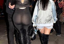 Kardashianın giydiği tulum olay oldu
