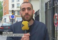 Fransada, gazeteciye gösteri yapılan alana girme yasağı