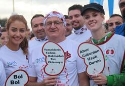 Vodafone 39. İstanbul Maratonunda bağış rekoru kırıldı