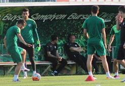 Bursaspor son maçta gençlerle sahada