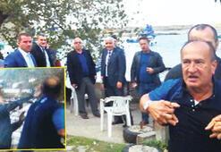 Bayram ziyaretinde Ak Partililere tepki