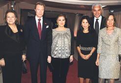Lüksemburg kraliyet ailesini konuk ettiler
