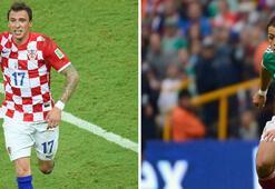 Hırvatistan - Meksika Gruptan çıkma maçı...