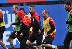 Sneijder ve Semih idmanda
