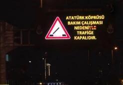 Unkapanı ve Galata Köprüsü trafiğe kapatıldı