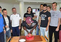 Gaziantepsporda Chibuikeye doğum günü sürprizi