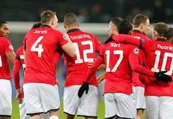 Manchester United Almanyada şov yaptı 0-5