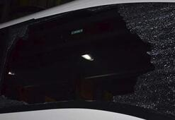 Denizlispor otobüsüne taşlı saldırı