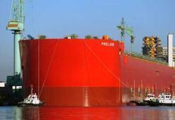 Dünyanın en büyük yüzer taşıtı: 488 metrelik dev doğalgaz platformu