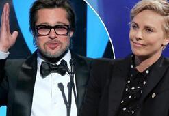 Brad Pitt ve Charlize Theron aşk yaşıyor
