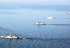 Savaş gemisinde bir gün