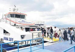 Deniz ulaşımını İzmirliler sevdi