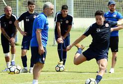 Antalyaspor şut ve gol çalıştı