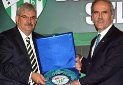 Bursaspordan sponsorlara vefa gecesi