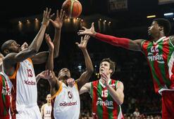 Galatasaray Odeabank - Pınar Karşıyaka: 77-62
