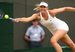Sharapova üçüncü tura çıktı