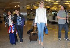 En uzun bacaklı manken İstanbulda