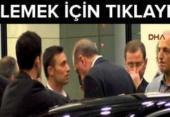 Başbakanı Mustafa Sandal karşıladı