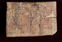 3 bin 700 yıllık Babil tableti, dünya tarihini sarstı
