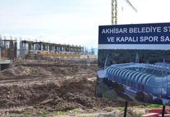 Akhisar Arenanın yapımı bakanlığa devredilecek