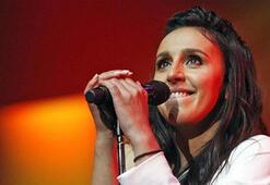 Kırımlı Tatar sanatçı Jamala Kievde konser verdi