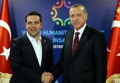 Yunan basını: Erdoğan ile Çiprasın samimi görüşmesi