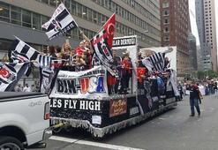 New Yorkta Beşiktaşın şampiyonluğu kutlandı