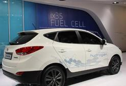 Hyundaiden hidrojenle çalışan yakıt hücreli elektrikli araç