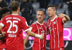 Bayern Münih Lewandowski ile kazandı