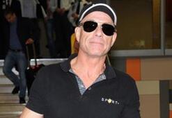 Jean Claude Van Damme İstanbula geldi