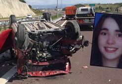 Son dakika: Festival dönüşü feci kaza Genç kız hayatını kaybetti