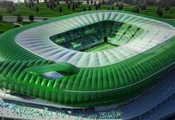 """Bursa'nın """"Timsah"""" Stadında sona doğru"""