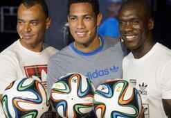 2014 Dünya Kupasının topu Brazuca tanıtıldı