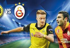 Galatasaray- Dortmund maçı özeti